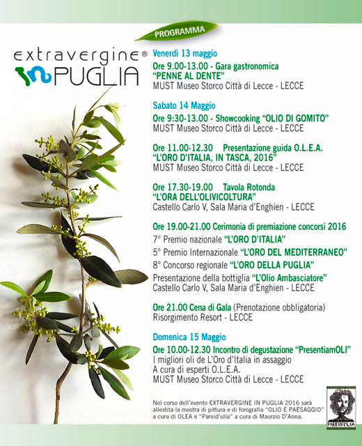 Extravergine in Puglia