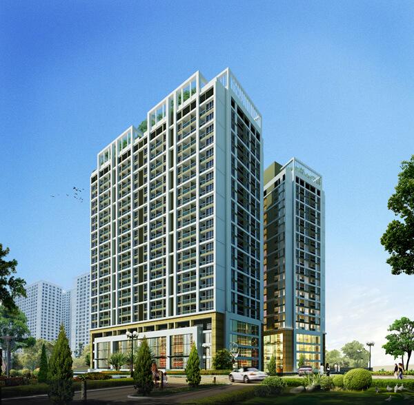 chung cư Green Pearl Minh Khai