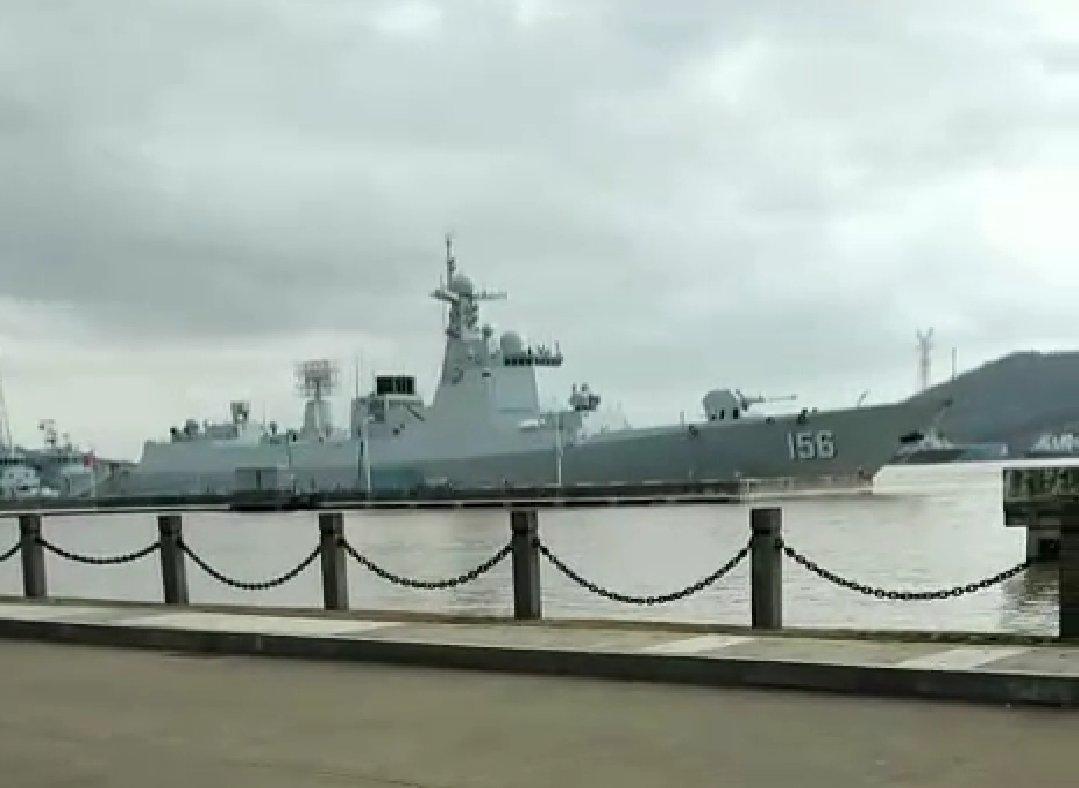 ВМС НВАК взяли на озброєння перший подовжений есмінець класу Тип-052D