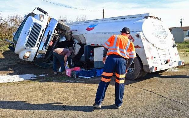 edwin camp selma fresno county big rig lexus collision fatality conejo fowler avenue