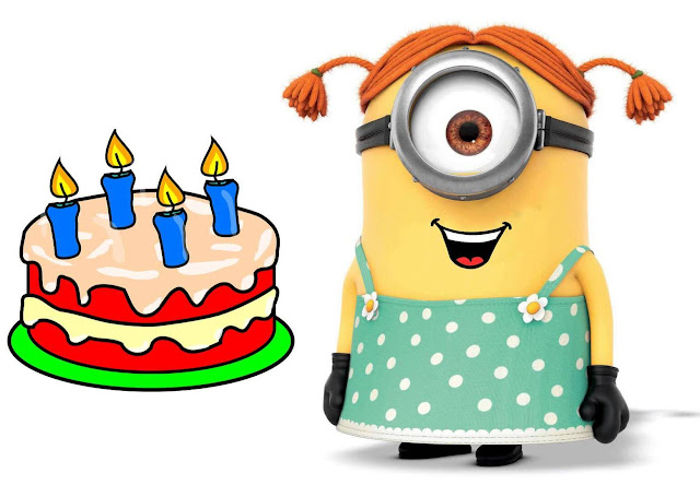 Happy Birthday Minions DP