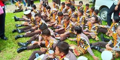 Satlantas Polres Lampung Timur Gelar Pelatihan Polisi Cilik (Pocil)