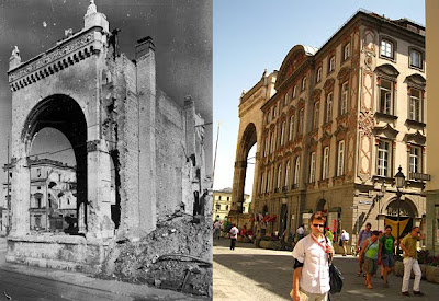 Palais Preysing then and now