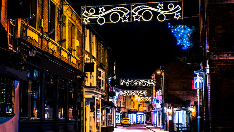 England Christmas Lights.Liberal England Petition To Bring Back Market Harborough S