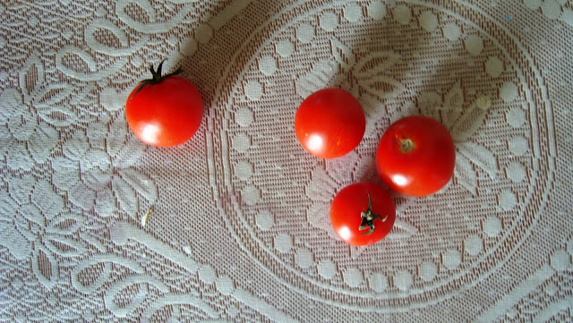 Tomatoes, colourful