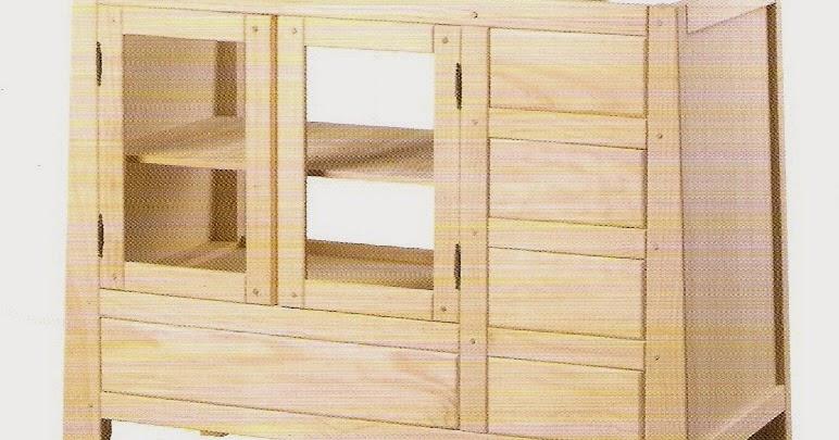 Cadal MUEBLES Ref31653168  Mueble de madera en crudo para baño