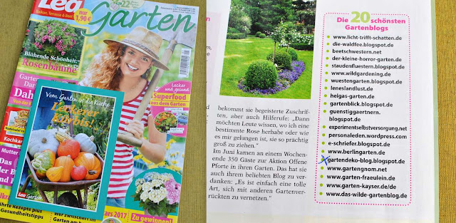 Gartendeko-Blog unter den Top 20
