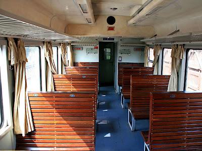 Train hard seats to Sapa