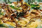 Elasticidad, obra de Boccioni
