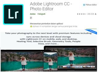 Aplikasi edit foto kekinian di Instagram