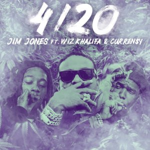 JIM JONES – 4/20 (FT. WIZ KHALIFA & CURREN$Y)