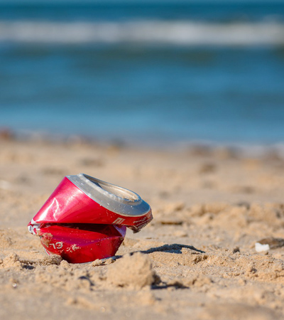 It's a bit sad that while on tour you'd see how much tourist trash accumulates in Venetian waters. Here are Five Ways To Minimize Tourist Trash.