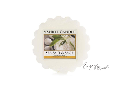 yankee candle sage and salt wosk