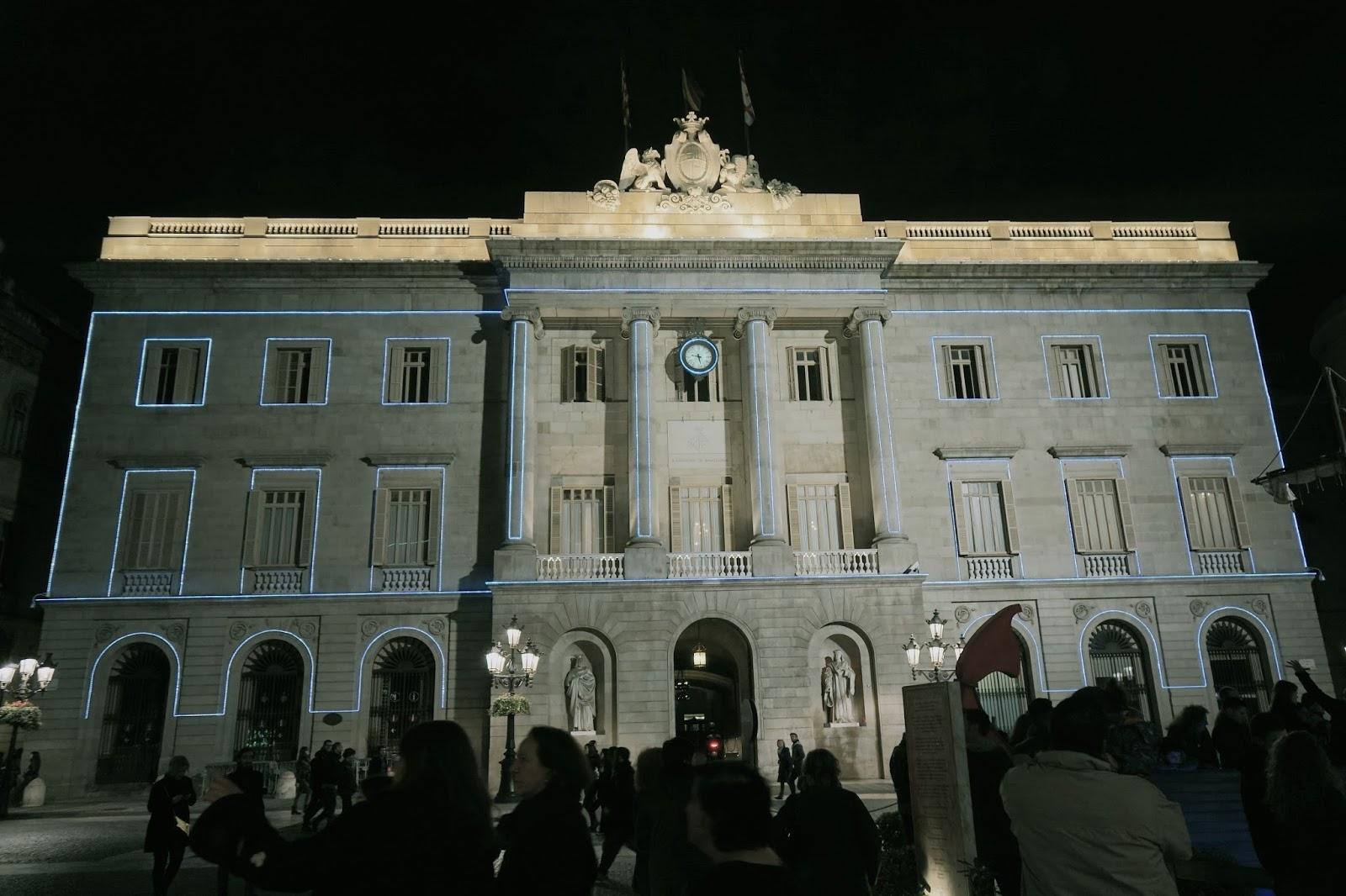 バルセロナ市庁舎