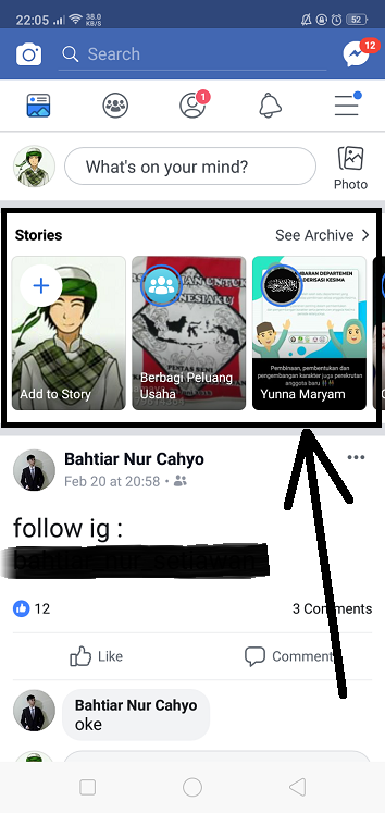 Cara Mengunduh Story Facebook dengan Cepat