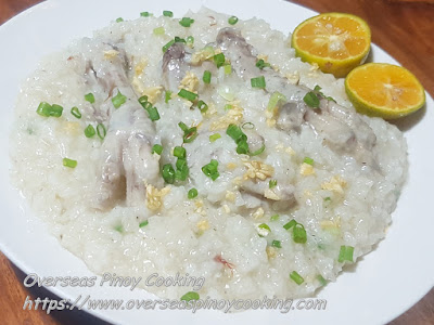 Chicken Feet Arroz Caldo Recipe