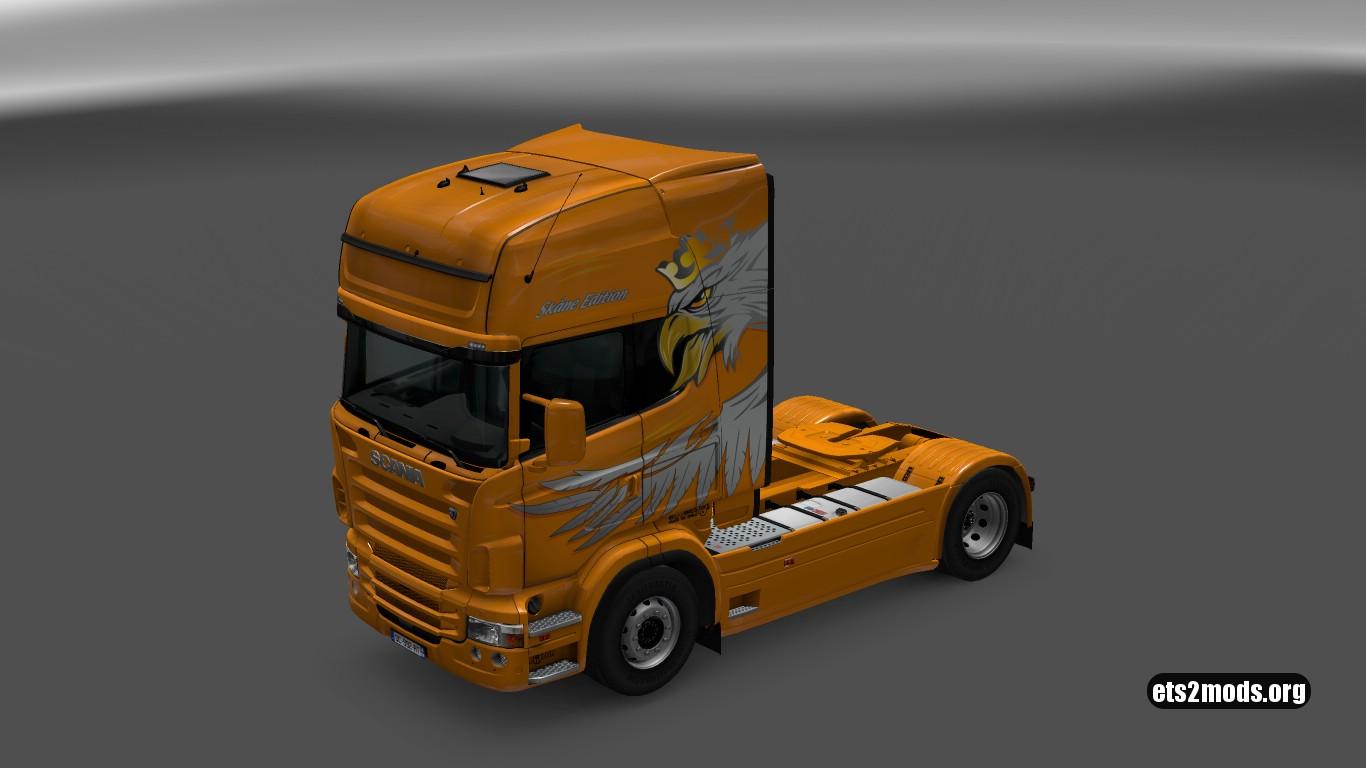 Scania RJL Skåne Edition Skin
