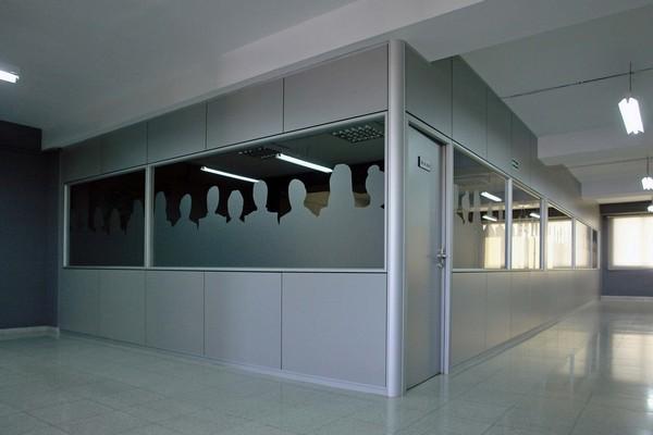 Cerramientos de oficinas aluminio tarragona puertas for Cerramientos oficinas