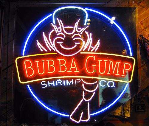 Bubba Gump sur Times Square