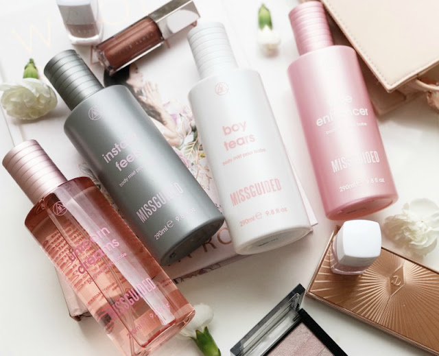 Missguided Body Mists Review