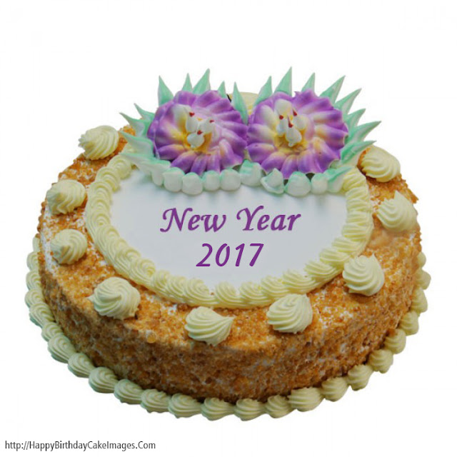 Happy New Year 2017 cake || best New Year's Day cakes