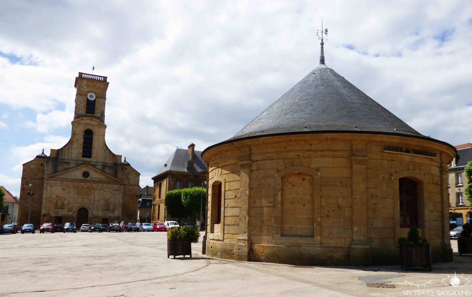 My Travel Background : A la découverte de Longwy, ville-étape du Tour de France 2017 - Rempart Vauban et place Darche Longwy