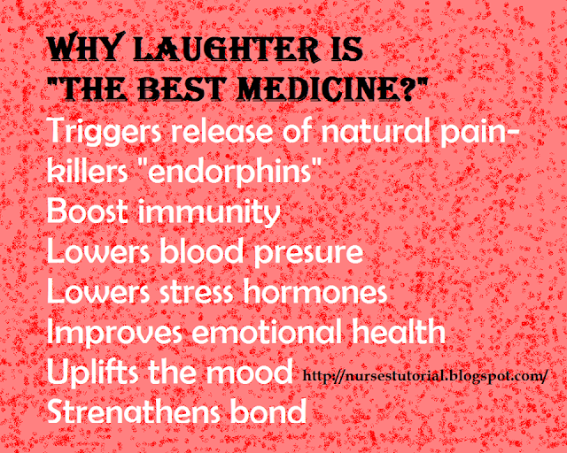 "WHY LAUGHTER IS ""THE BEST MEDICINE?"