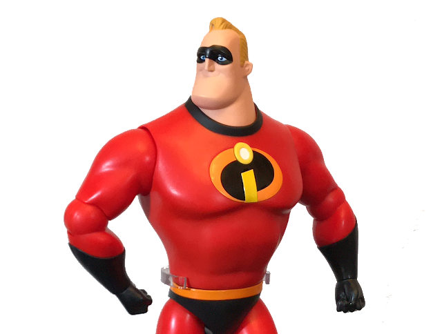 Best Incredibles Toys Reviewed : Tubey toys video and toy review mr incredible disney