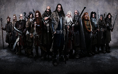 Company of thirteen dwarves led by Thorin Oakenshield