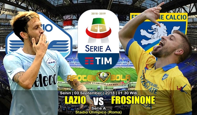 Prediksi Lazio Vs Frosinone 3 September 2018