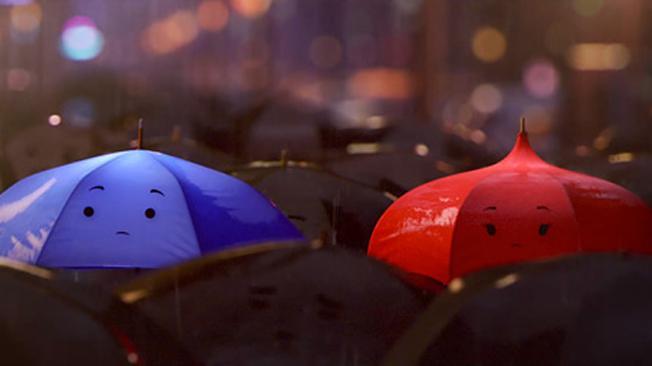 """El paraguas Azul"""