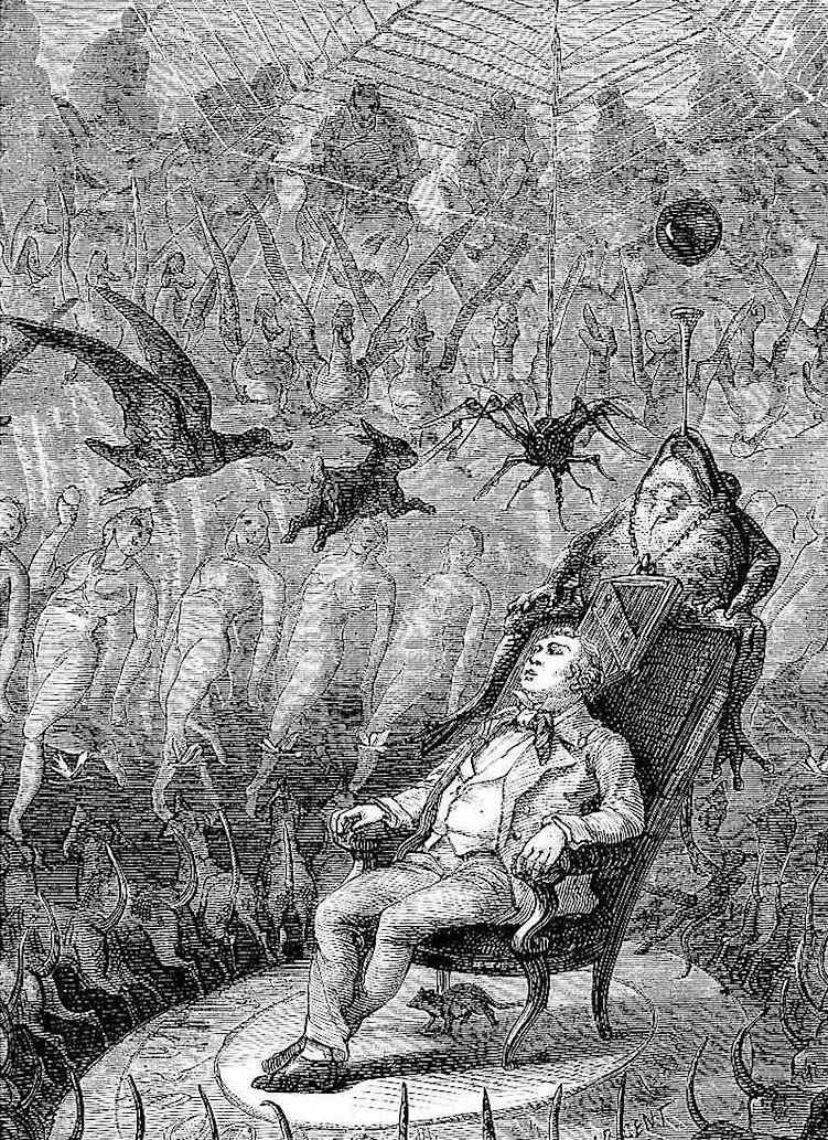 A Yan Dargent illustration, 1878