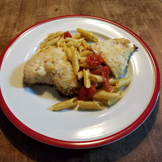 Oven Roasted Chicken Parmesan