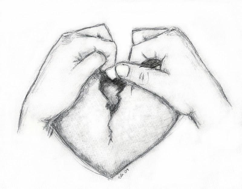Gebrochenes Herz Zeichnen Steensrunningclub