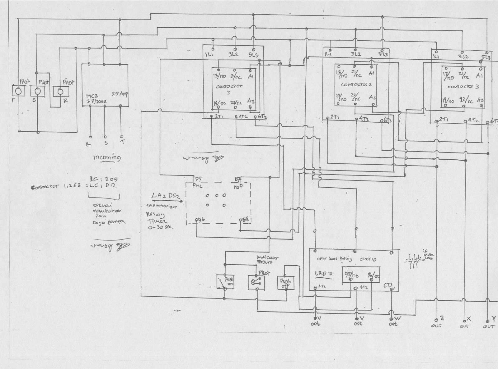 wiring diagram panel ats sederhana wiki    apktodownload com