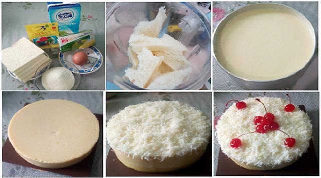 Resep Cake Cheese Kukus: Resep Membuat Cheese Cake Roti Tawar Kukus Keju Bikin