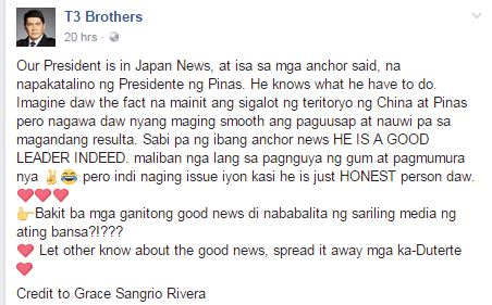 Tulfo Brothers Confused Why Philippine Media Does Not Spread Good News About President Duterte!