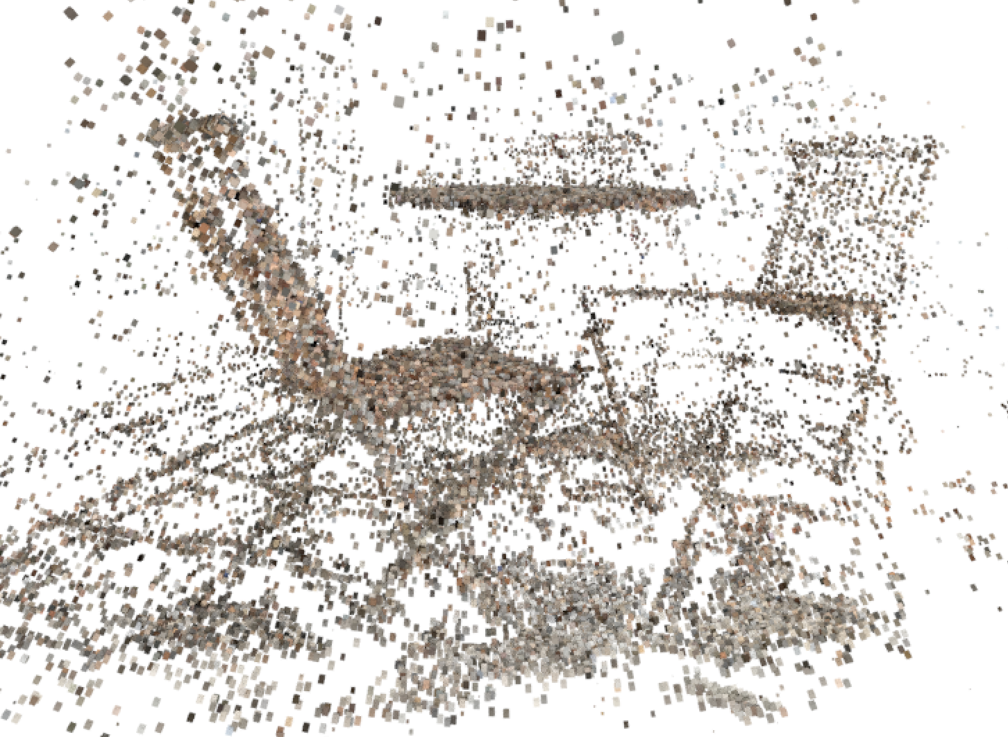 STUDY / Point Cloud Photogrammetry Using COLMAP and CloudCompare