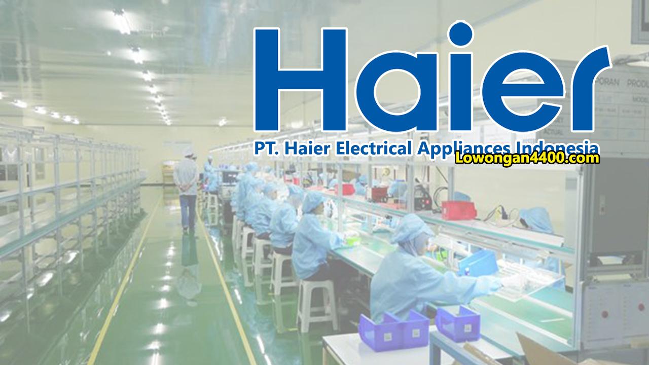 Lowongan Kerja PT. Haier Electrical Appliances Indonesia EJIP