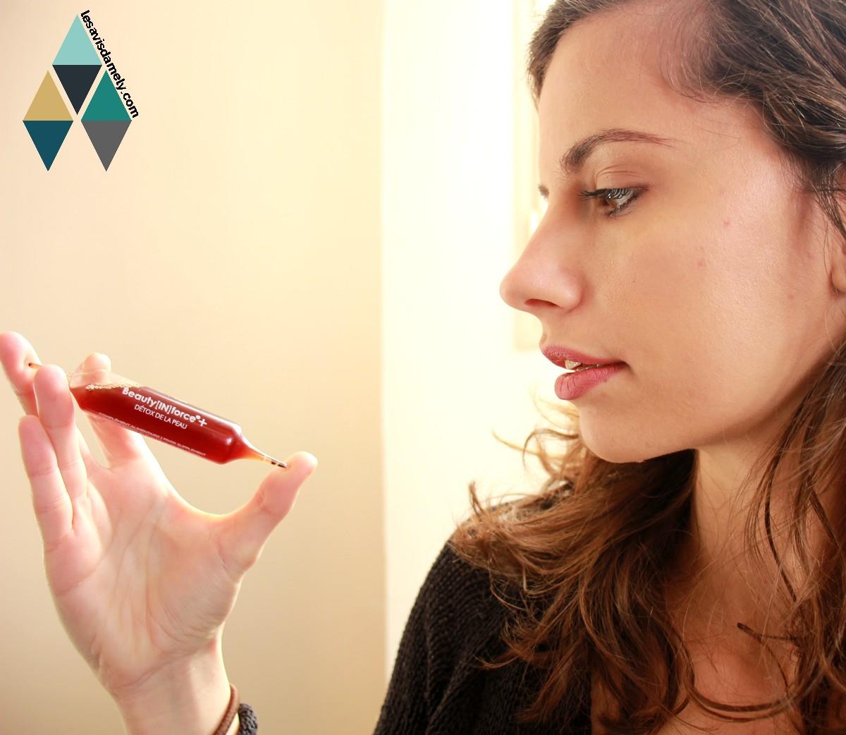 avis et test cure beauté purifiant detox peau imperfections Floreve