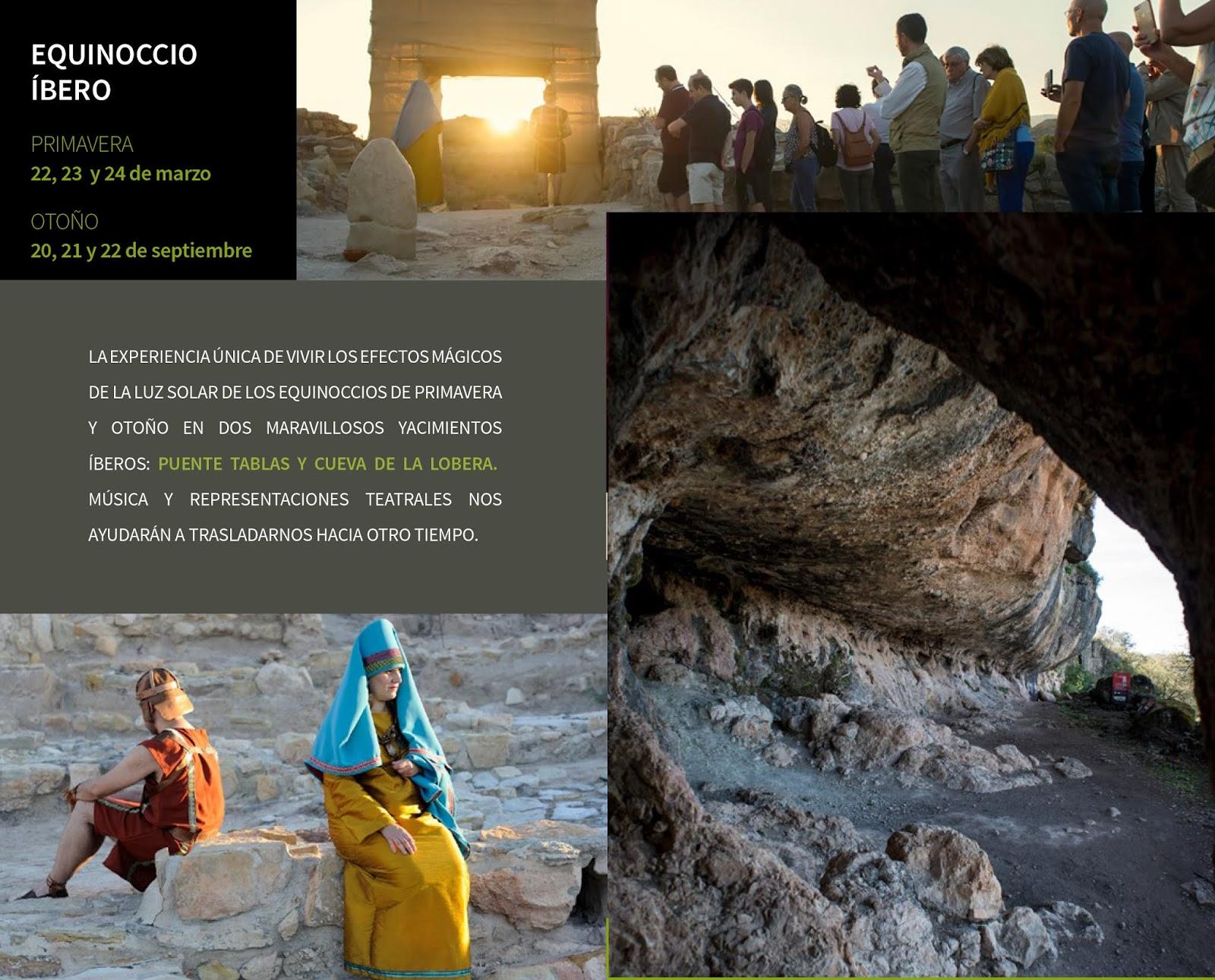 Actividades del programa 'Viaje al Tiempo de los Íberos' para celebrar el equinoccio de primavera.