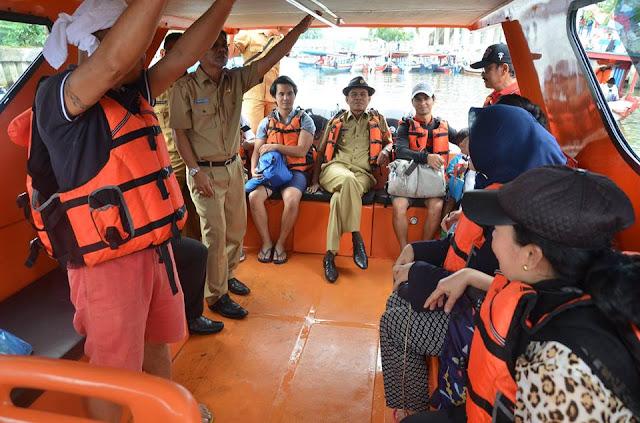 Dibantu Alat Sonar, Mukhlis Harap Kapal Patroli Polres Pariaman Ditemukan