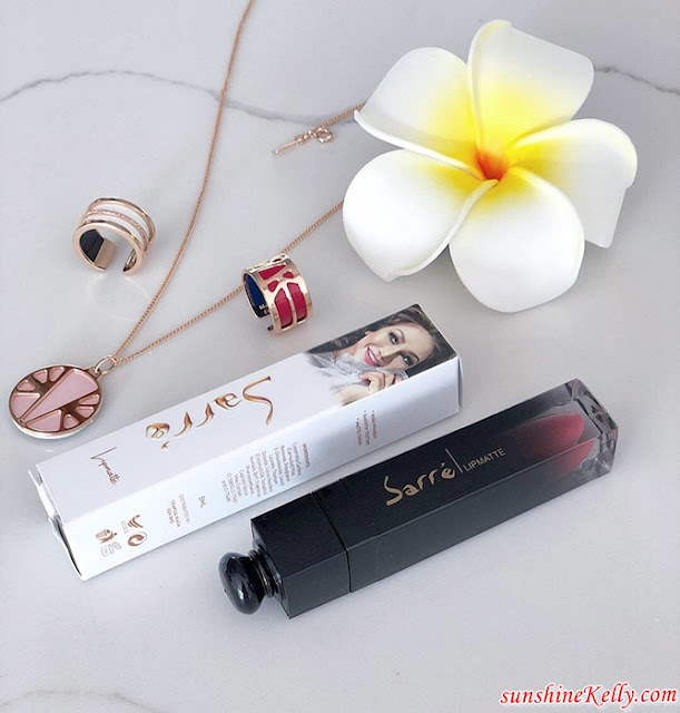 Sarr'e by Sari, Sarr'e by Sari Lipmatte, Lipmatte Review, Lipcolor Review, Flirt John, Beauty Review, Beauty