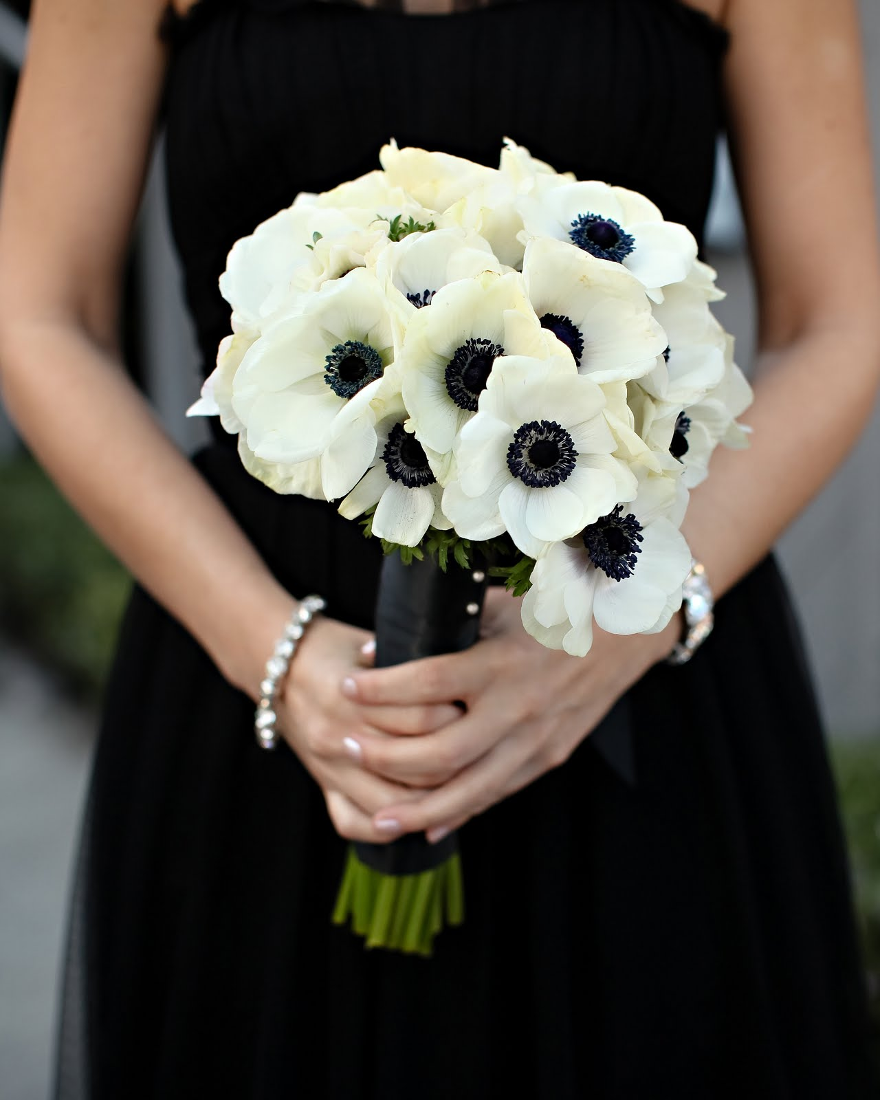 White And Gold Wedding Flowers: Wedding Flowers: Black Wedding Flowers
