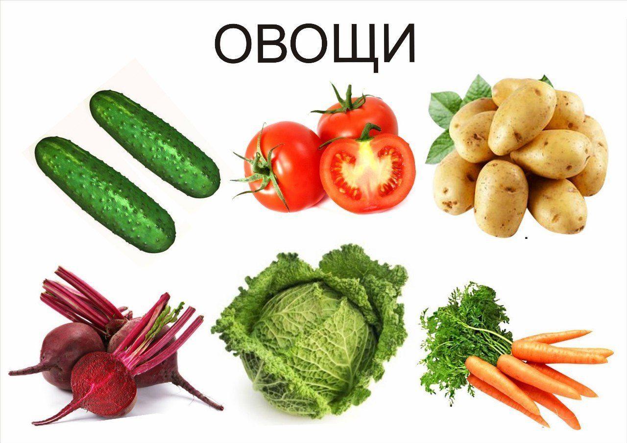 картинки на обобщающие понятия овощи лечением