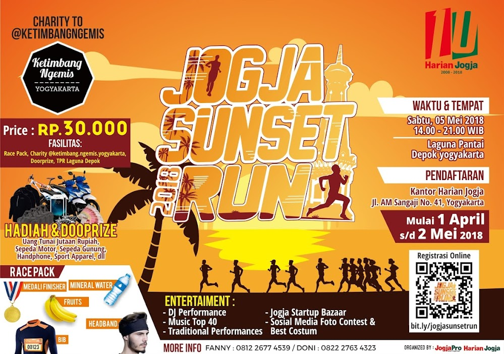 Jogja Sunset Run • 2018