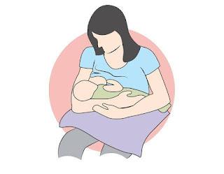 Kebaikan susu ibu kepada ibu dan anak bayi