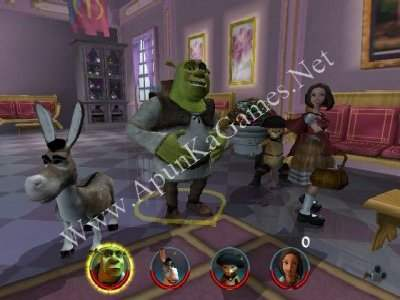 Shrek 2 download (2004 arcade action game).