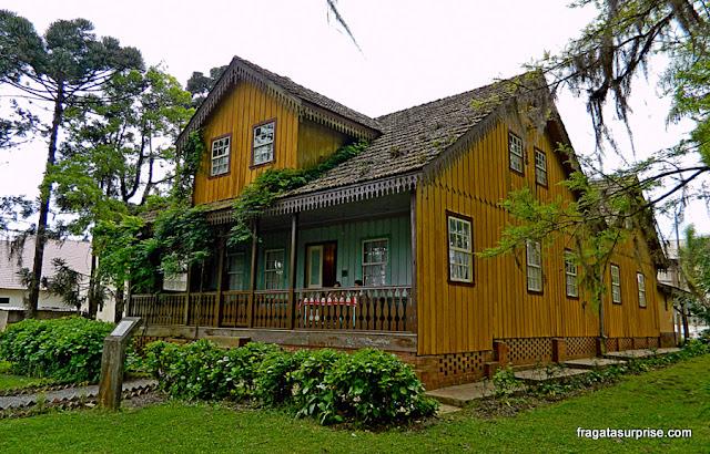 Museu Histórico da Colônia Witmarsum, antiga sede da Fazenda Canela