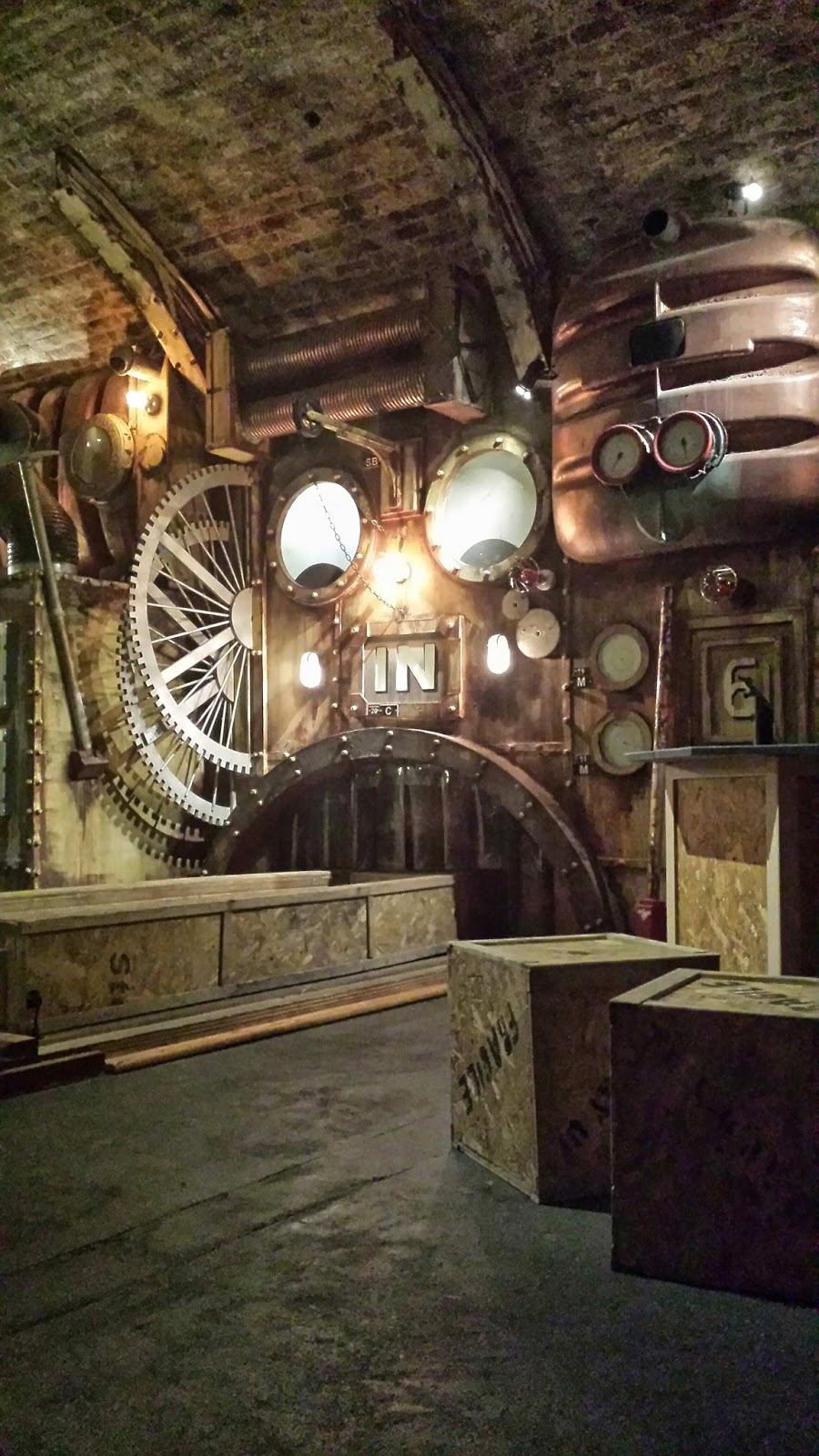 Immersive theatre and escape rooms Adventures of a London Kiwi